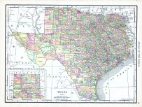Texas, World Atlas 1913